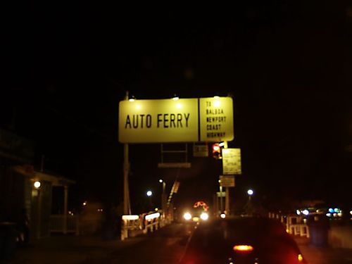 Balboa island sign